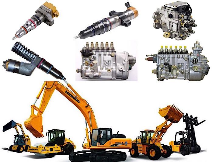 تعمیرات پمپ و انژکتور انواع ماشین آلات راهسازی